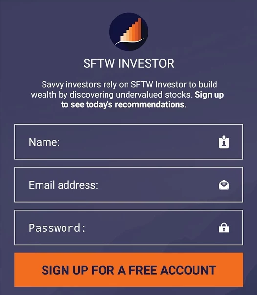 sftw investor for android